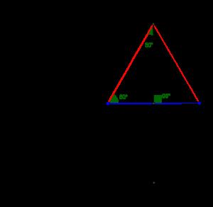 ligesidet-trekant-foldning-arg
